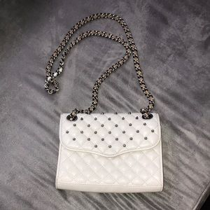 Rebecca Minkoff Quilted Studded Mini Affair Bag